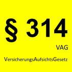 Paragraph 314 VAG -  Partum Goldvertrieb UG, Feldkirchen